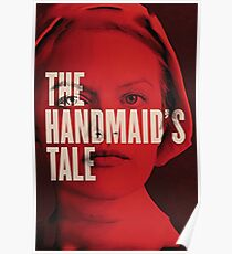 Handmaid's Red Poster