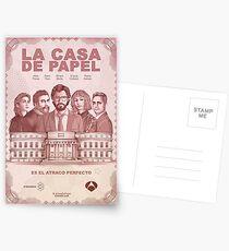 La Casa de Papel Postcards