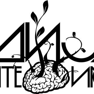 Ganja White Night Logo by tychilcote