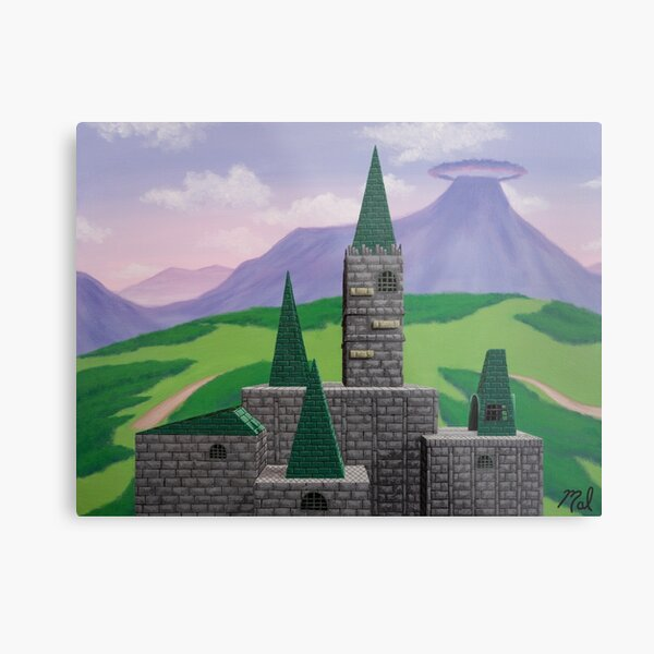 Castle Clash Metal Print