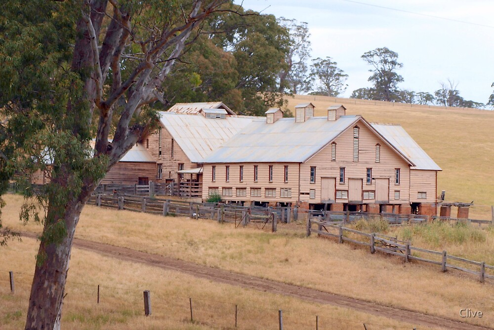 Quot Warrock Shearing Shed Quot By Clive Redbubble