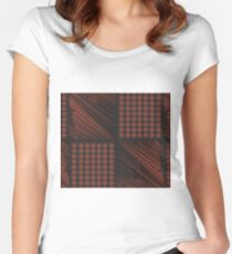 Ancient Pattern Women's Fitted Scoop T-Shirt
