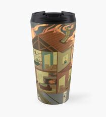 House on Fire Travel Mug