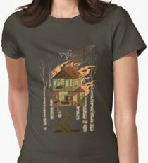 House on Fire Women's Fitted T-Shirt