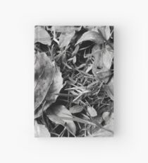 Lonely Leaf  Hardcover Journal