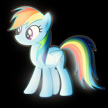 Rainbow Dash 3 by DarkSatanicorn