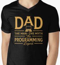 Quote The Man Myth Legend Mens V Neck T Shirts Redbubble