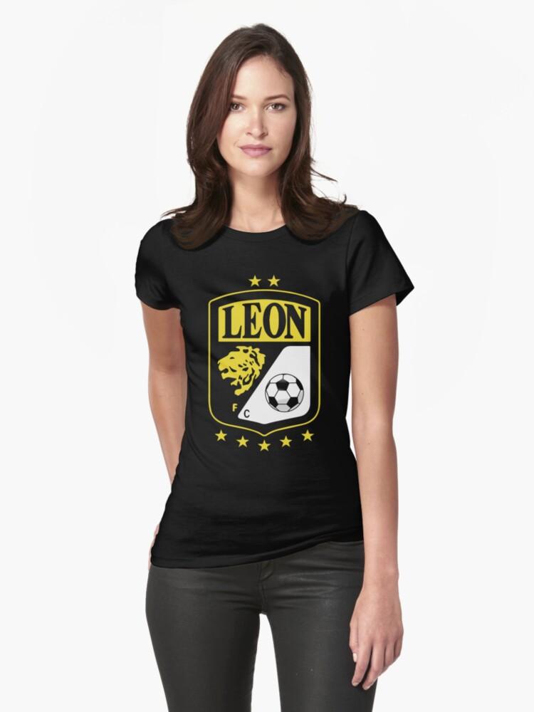 Club Leon F C Futbol Soccer Mexico Green Camiseta New Green skeleton Women s  T-Shirt cd4367648d