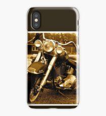 My friend the wind - Harley Davidson. by Andrzej Goszcz. iPhone Case