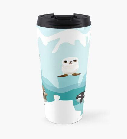 Arctic Friends Travel Mug