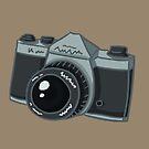 A Strange Camera by artofzan