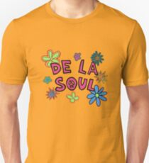 De La Soul Muster Slim Fit T-Shirt