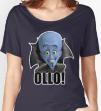 Megamind - Will Ferrell - Ollo! Hello! Women's Relaxed Fit T-Shirt