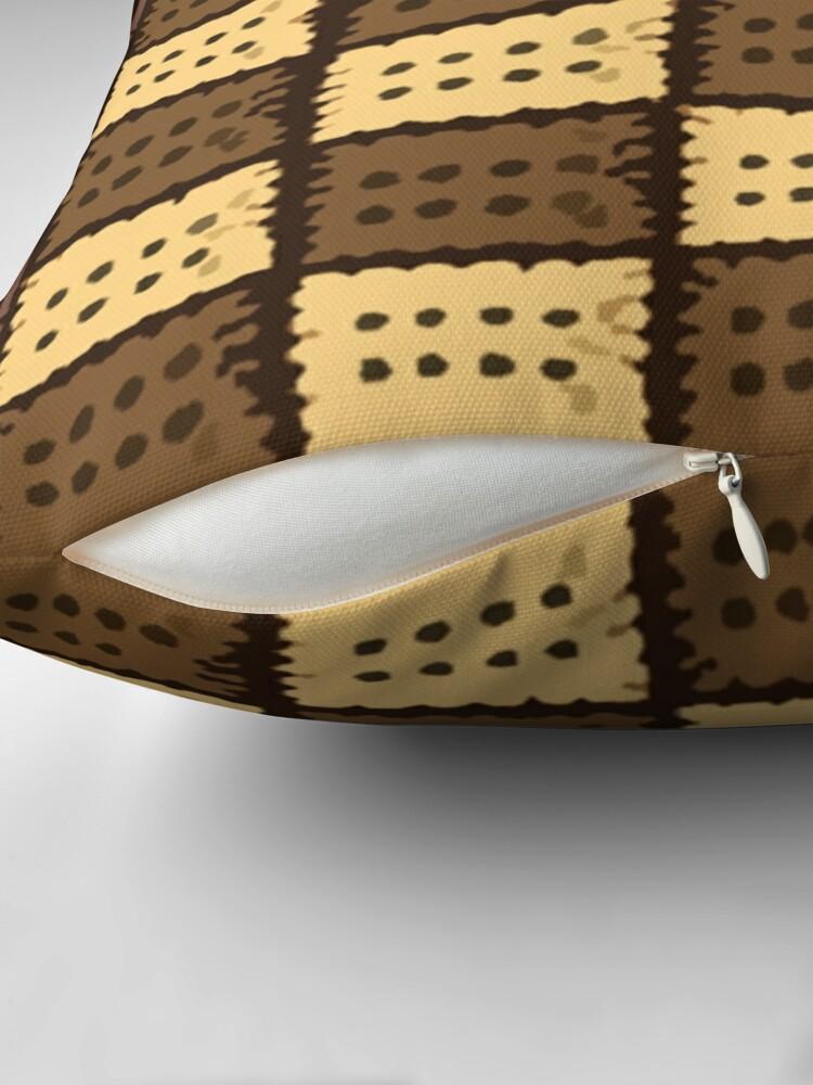 Alternate view of Coffee Range | Coffee Cookies| Coffee Beans Throw Pillow