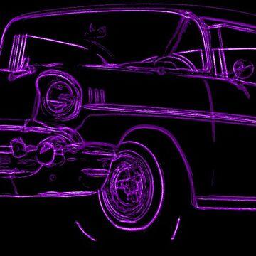 1957 Chevrolet BelAir Sketch by lilypad-au