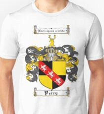 Perry Family Crest / Perry Coat of Arms T-Shirt T-Shirt
