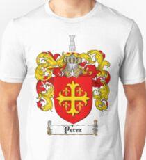Perez Family Crest / Perez Coat of Arms T-Shirt Unisex T-Shirt