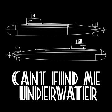 can't find me underwater by AlsterDesignUm