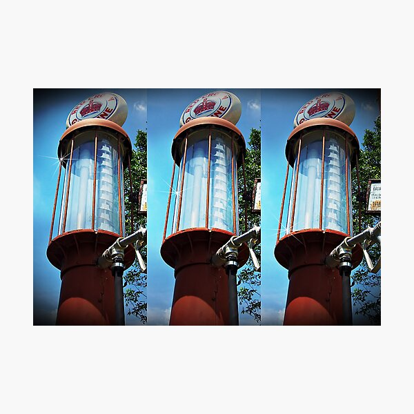 The Old Gas Pump Photographic Print