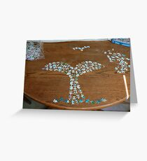 Save the puzzles Greeting Card