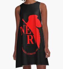 Neon Genesis Evangelion NERV Logo A-Line Dress