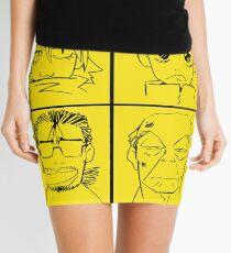 Furi kuri 4 faces Mini Skirt