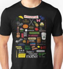 Camiseta unisex Cómo me encontré con tu madre