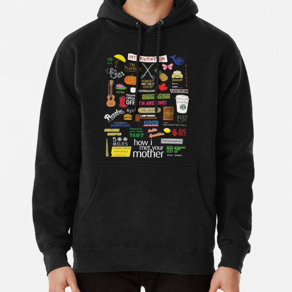 How I Met Your Mother | HIMYM | TV Show | Collage Pullover Hoodie