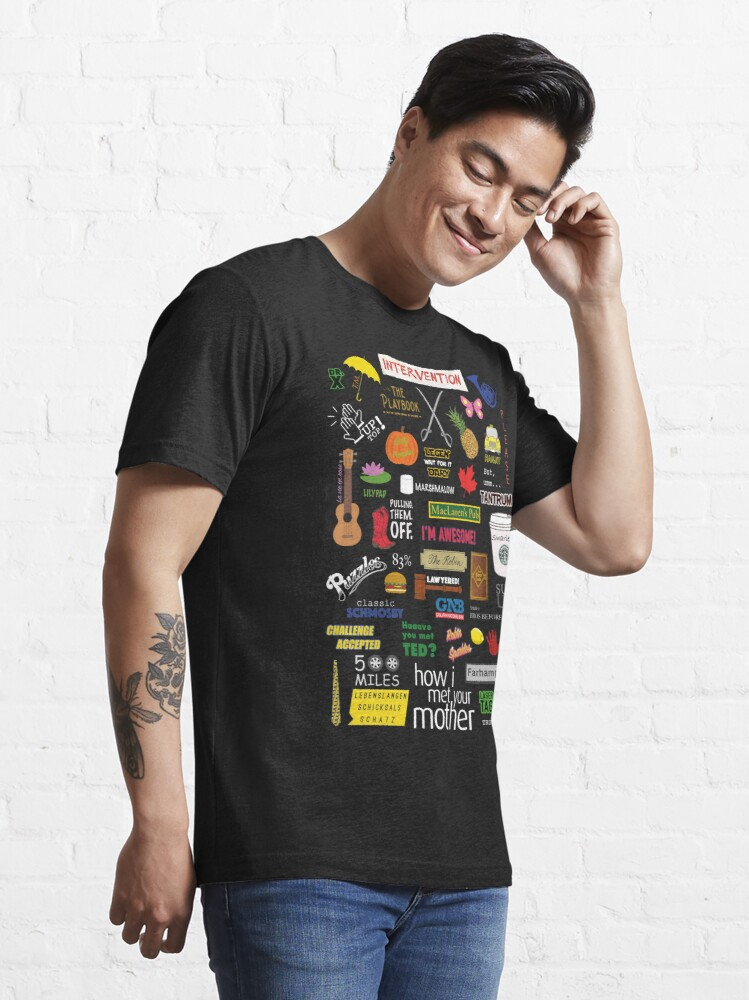 Alternate view of How I Met Your Mother | HIMYM | TV Show | Collage Essential T-Shirt