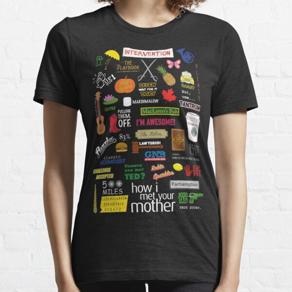 How I Met Your Mother | HIMYM | TV Show | Collage Essential T-Shirt