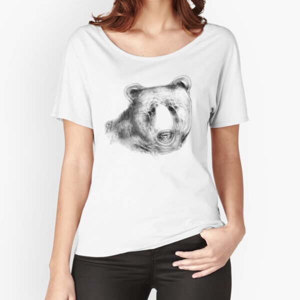 Sketchy Bear Love Relaxed Fit T-Shirt