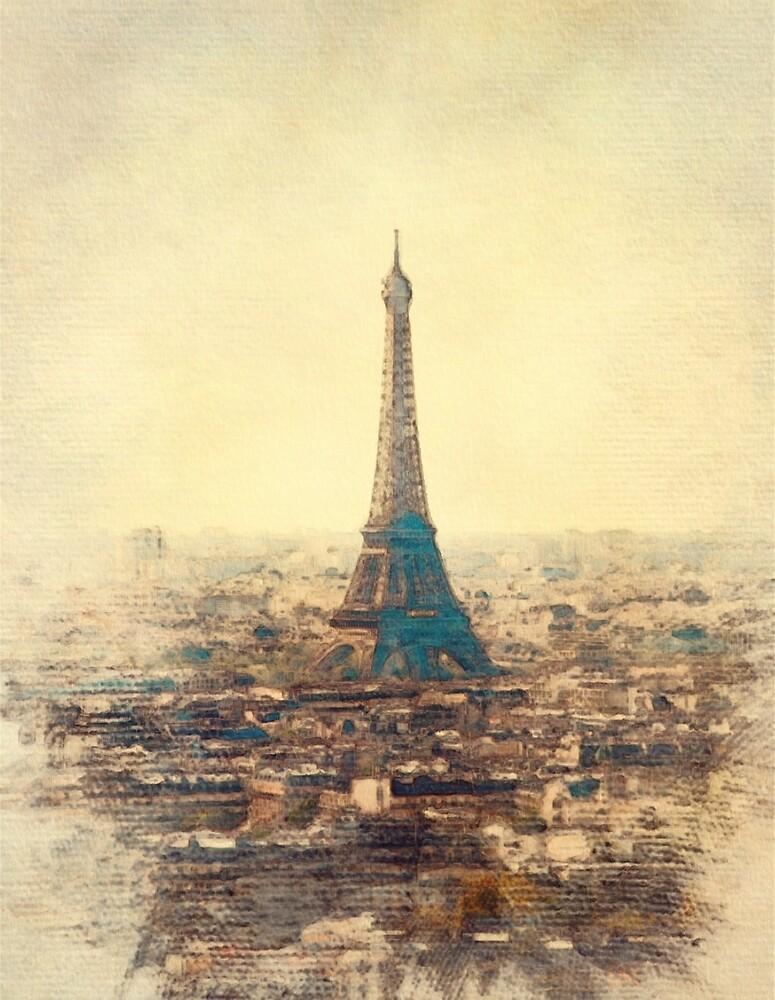 Eiffal Tower, Paris by SerpentFilms