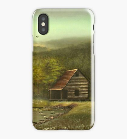 SEASONED, Acrylic Painting, for prints and products iPhone Case