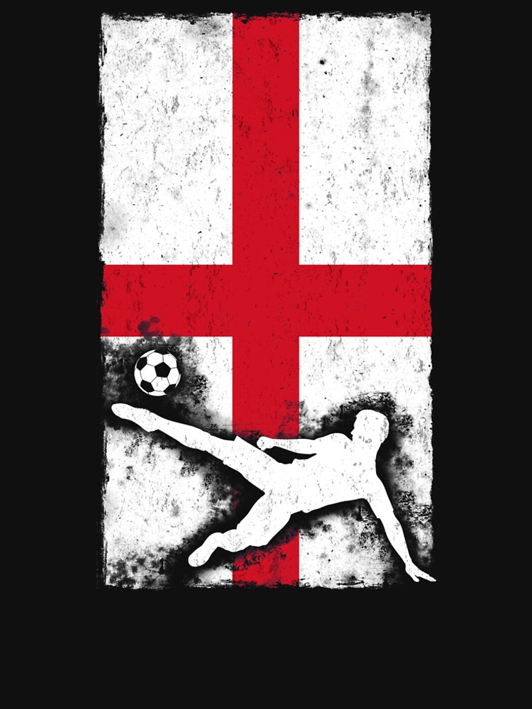 England National Soccer Team T shirt by hlcaldwell
