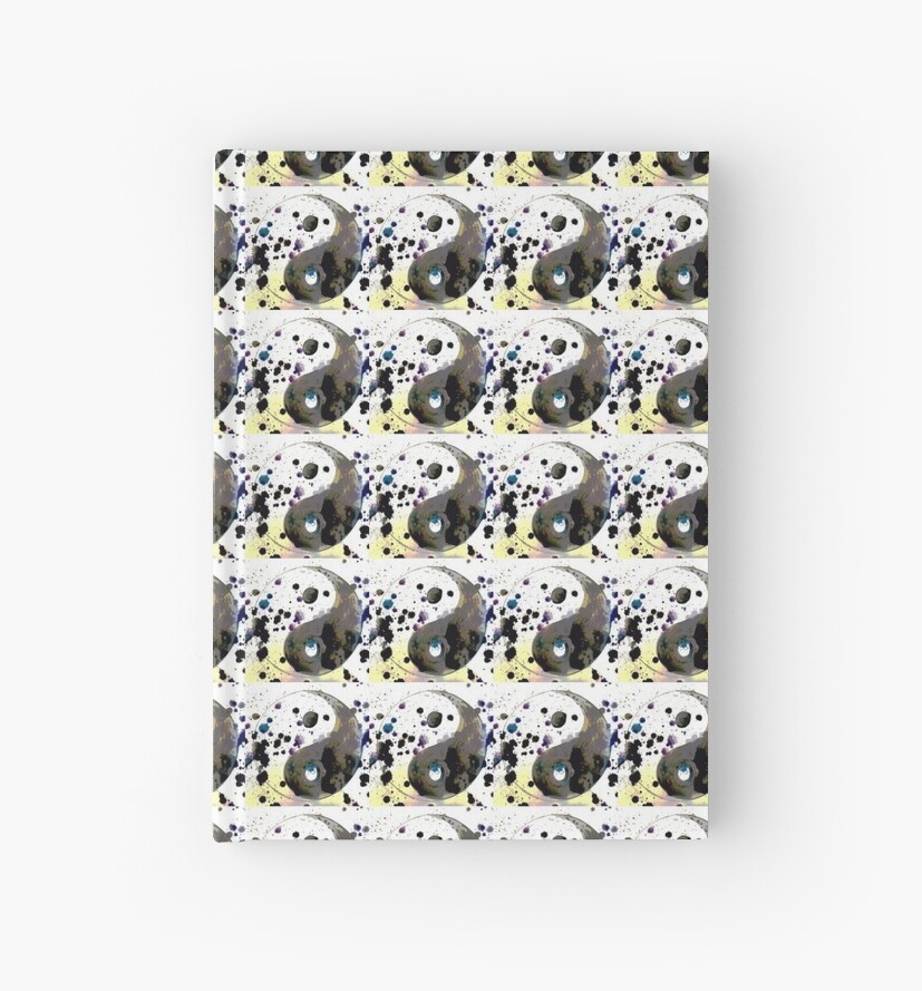 ying yang print by MadmyrtleDesign