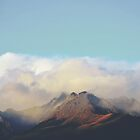 Sun kissed summit in the clouds by Cloudlingpics