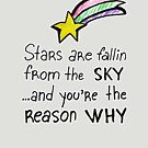 Stars are fallin from the sky by Julia Syrykh