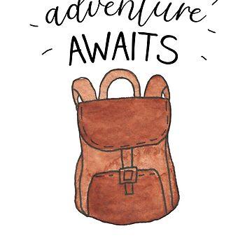 Adventure awaits by caddystar