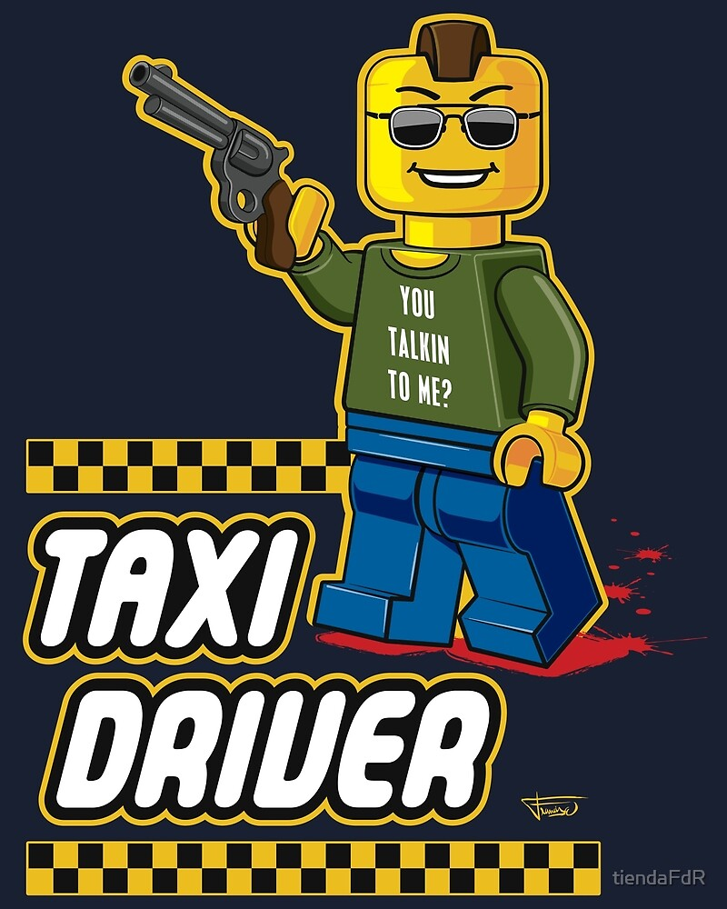 Taxi Driver by tiendaFdR