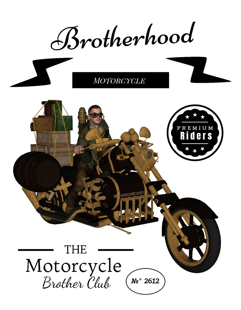Motorcycle, Motorcycle Brotherhood by Bonita0105