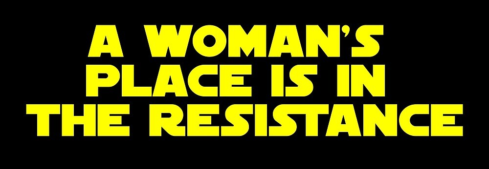 Resistant Women (yellow, bold) by AllQueerHere