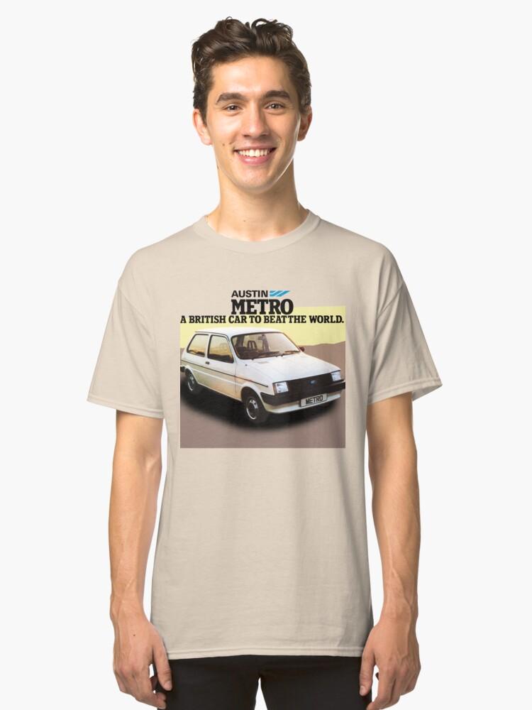 AUSTIN METRO Classic T-Shirt Front