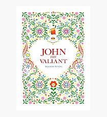 John The Valiant Photographic Print