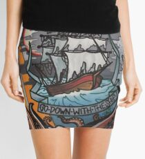 go down with the ship. Mini Skirt