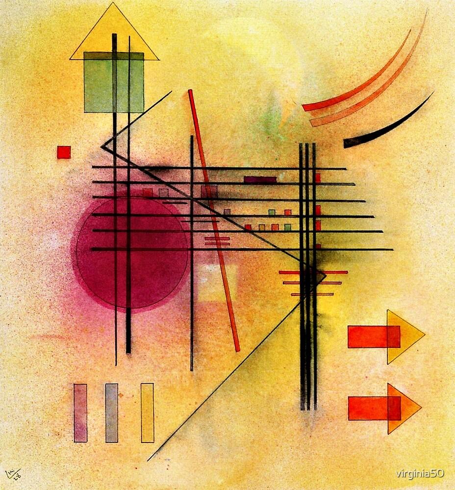 Kandinsky - Vibrant by virginia50