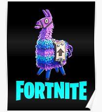 FORTNITE Llama Loot Poster