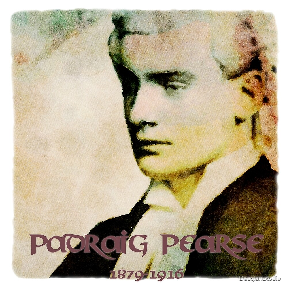 Padraig Pearse by DeaglanStudio