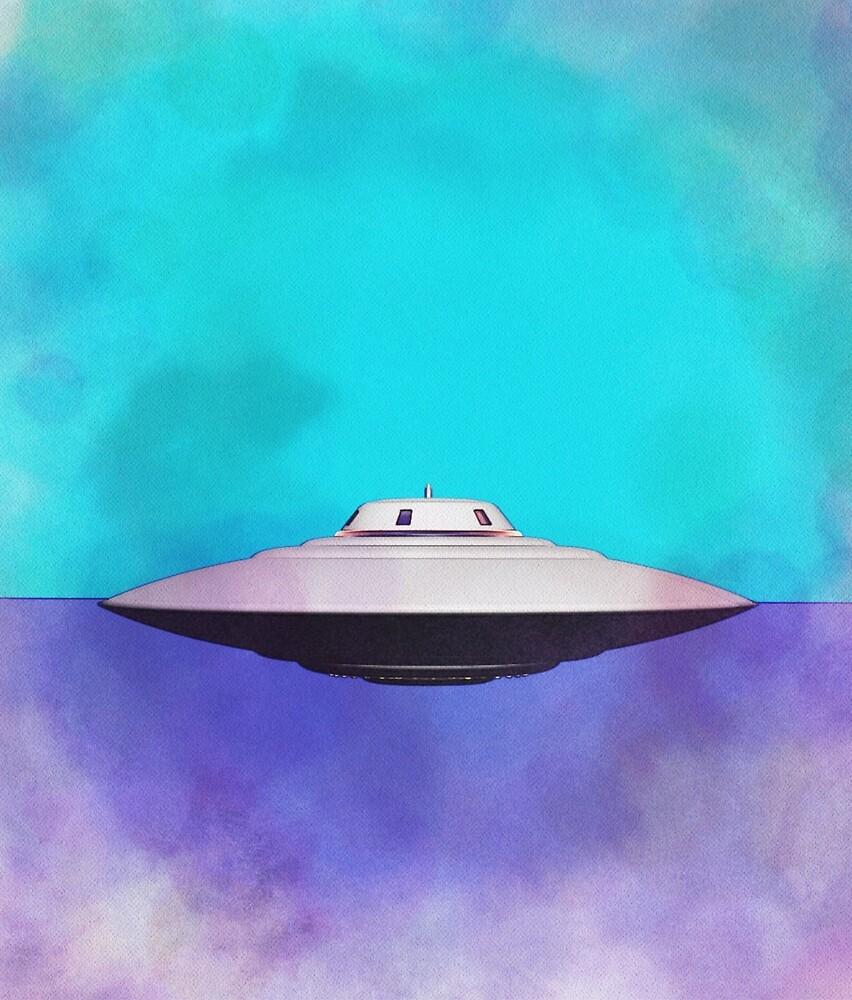 UFO, Alien, Space Ship, Flying Saucer, Sci-Fi by SerpentFilms