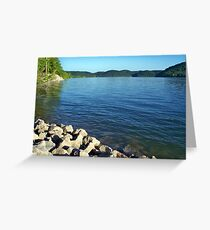 Cave Run Lake Greeting Card