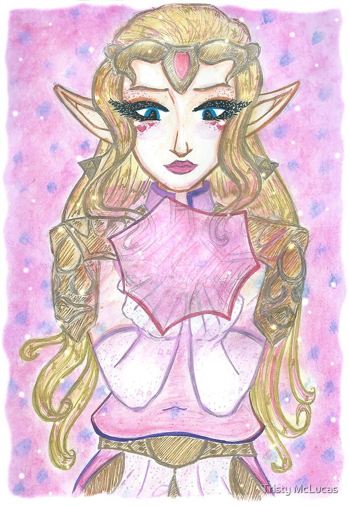 Princess Zelda from Ocarina of Time by Tristy McLucas